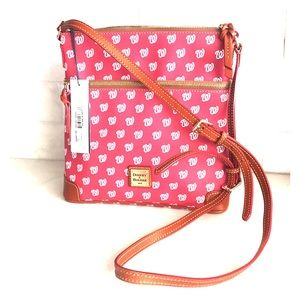 Washington Nationals Dooney&Bourke Crossbody Purse